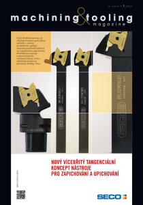 Obálka machining & tooling 1/2013