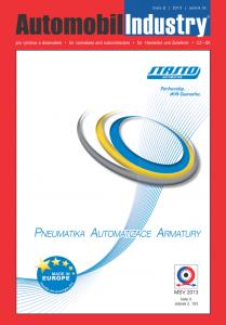 Obálka Automobil Industry 2/2013