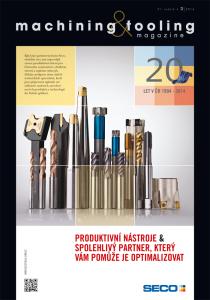 Obálka machining & tooling 2/2014