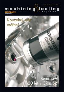 Obálka machining & tooling Speciál Renishaw 2014/2014