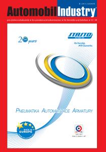 Obálka Automobil Industry 3/2015