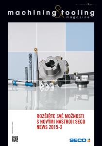 Obálka machining & tooling 2/2015