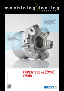 Obálka machining & tooling 2/2016