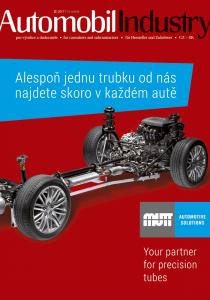 Obálka Automobil Industry 2/2017