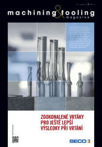Obálka machining & tooling 2/2017