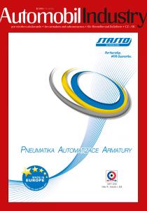 Obálka Automobil Industry 3/2018