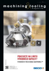 Obálka machining & tooling 2/2018